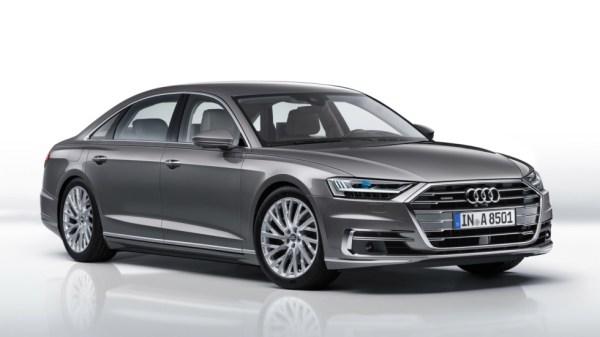 Audi a8front
