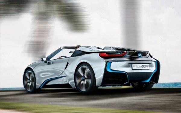 На фото: BMW i8 Spyder Concept