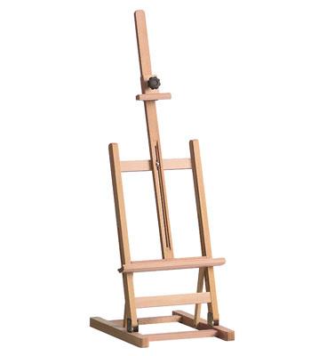 Hobby-Tischstaffelei aus Buchenholz