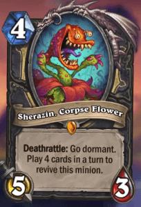 Sherazin Corpse Flower Hearthstone