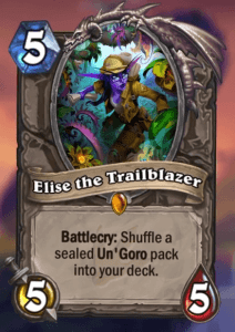 Elise the Trailblazer Hearthstone