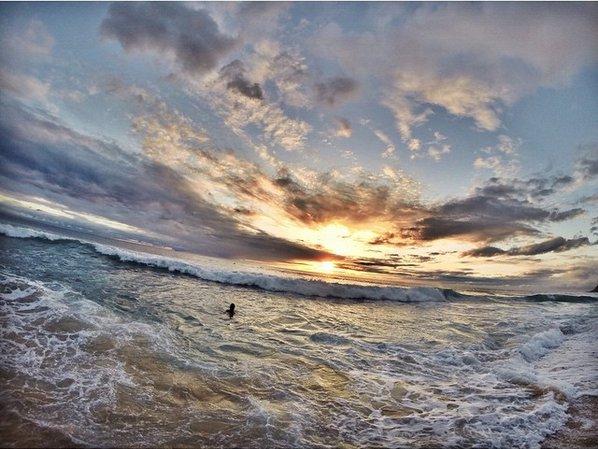 Angela Lee Surfing
