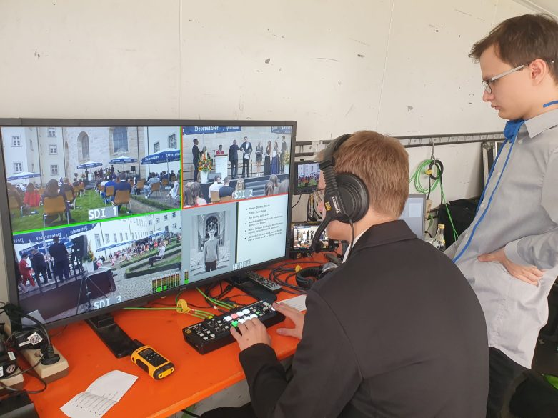 Videoübertragung Abifeier 2020