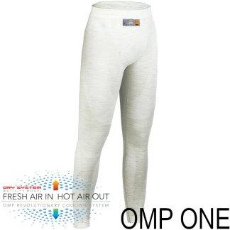 OMP ONE FIA godkjent bukse i hvit