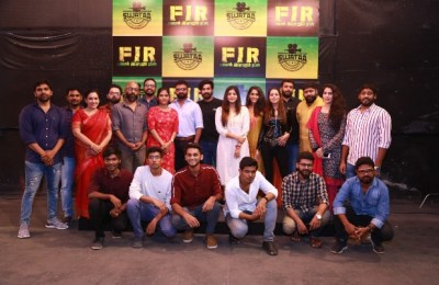 FIR Movie Pooja Stills (27)
