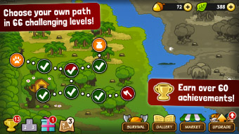 Free Tower Defense game for iPhone, game for iPad, Android td