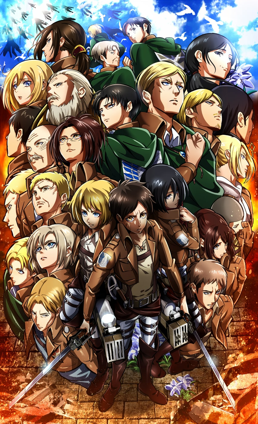 While it's fluid, clean and well draw. HD Attack On Titan Wallpaper - KoLPaPer - Awesome Free HD ...