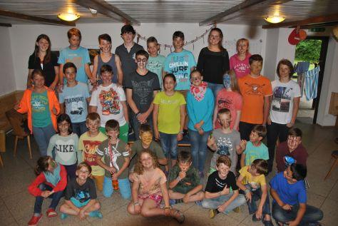 Kinder-Ferienlager 2014, Österreich, Weißenbach, Sommerlager, Kolpingjugend, Grefrath