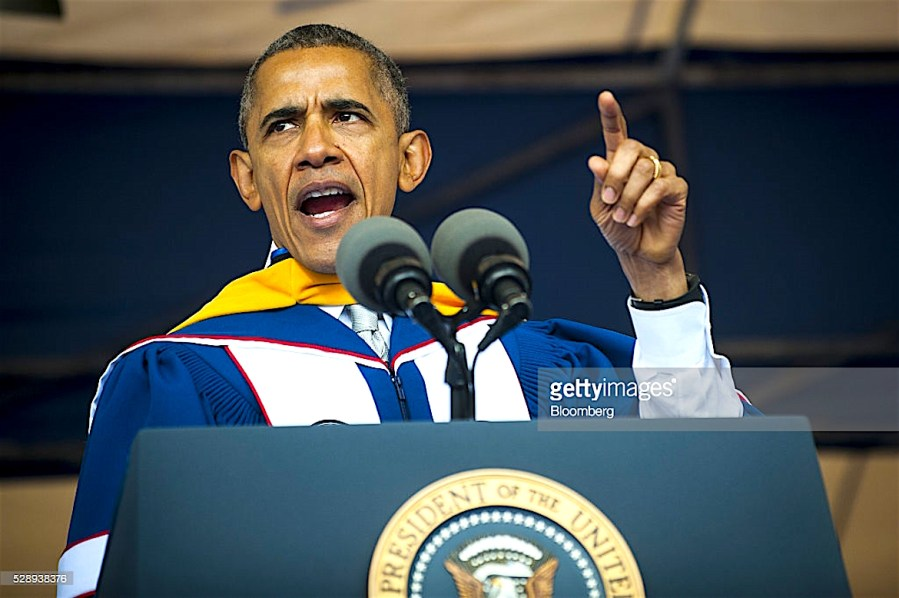 President Barack Obama, Howard University Graduation, Tucker Carlson, Fox News, KOLUMN Magazine, Kolumn