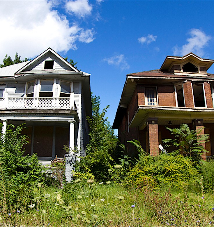Detroit Blight, Abandoned Homes, Detroit Communities, KOLUMN Magazine, Kolumn