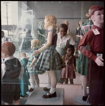 Ondria Tanner and Her Grandmother Window-shopping, Mobile, Alabama, 1956, Edition 19 of 25