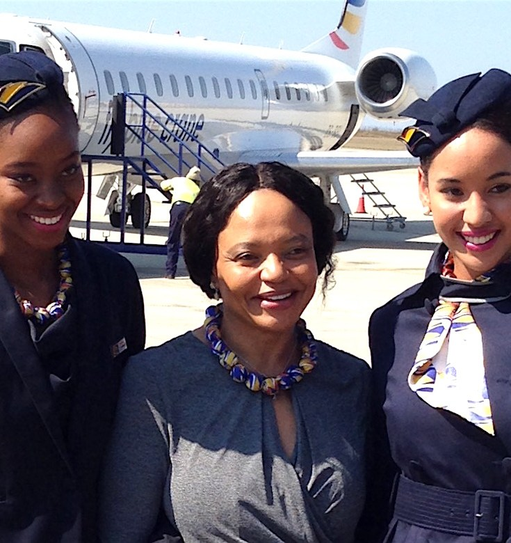 Sizakele Mzimela, Fly Blue Crane, South African Travel, Woman-owned Airline, KOLUMN Magazine, KOLUMN