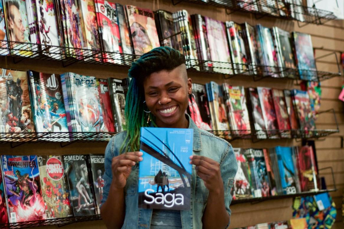 Amalgam Comics and Coffeehouse, Ariell Johnson, Comic Book Store, African American Entrepreneur, Black Businesses, KOLUMN Magazine, KOLUMN