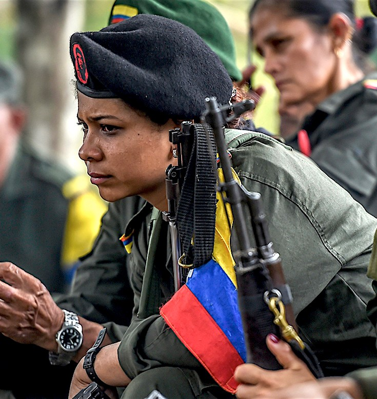 Columbian Civil War, FARC, Revolutionary Armed Forces of Colombia—People's Army, Juan Manuel Santos, KOLUMN Magazine, KOLUMN