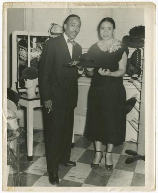 Mae Reeves, African American Hat, African American Millinery, KOLUMN Magazine, KOLUMN