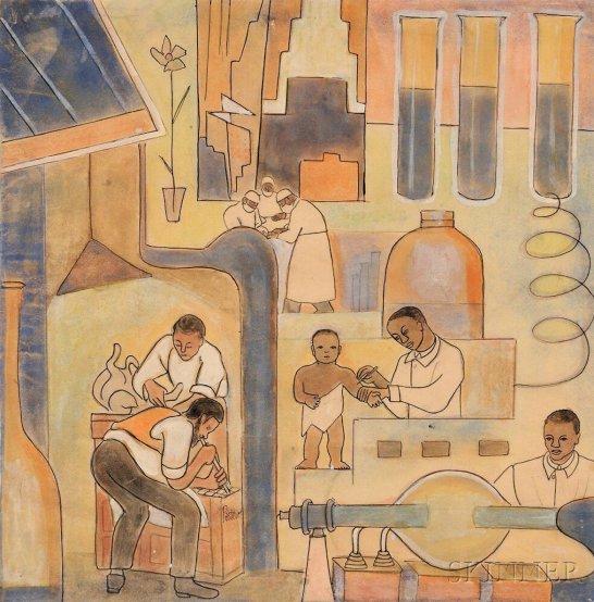 Thelma Johnson Streat, African American Art, African American Artist, KOLUMN Magazine, KOLUMN