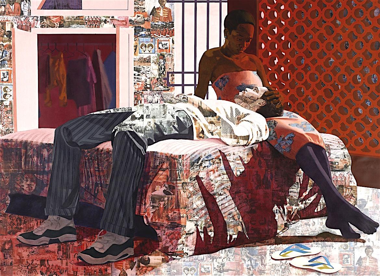 Njideka Akunyili Crosby, African Artist, Nigerian Artist, KOLUMN Magazine, KOLUMN