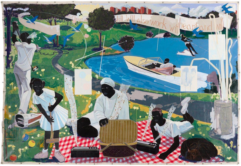 Kerry James Marshall, African American Artist, Black Art, KOLUMN Magazine, KOLUMN