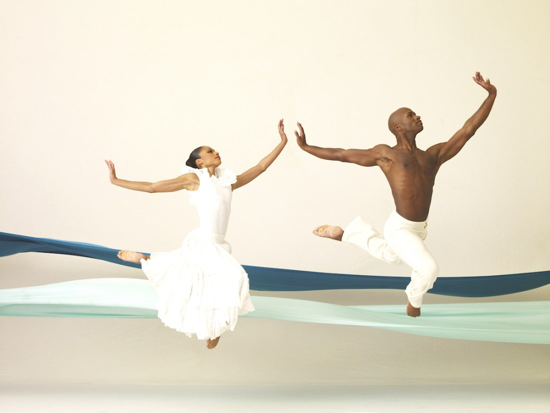 "Alvin Ailey American Dance Theater in Robert Battle's ""The Hunt"" PAUL KOLINK PHOTOS"