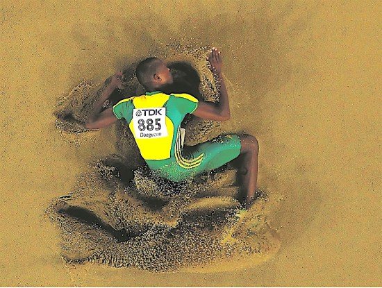 Luvo Manyonga, South African Athlete, Olympic Athlete, KOLUMN Magazine, KOLUMN