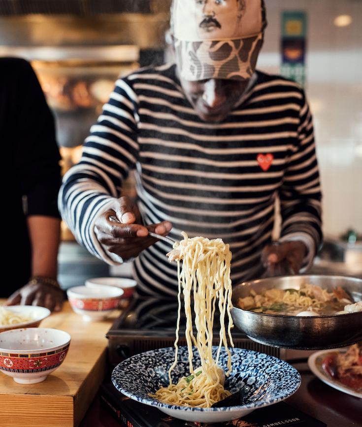 Marcus Samuelsson, Jarobi White, African American Chefs, KOLUMN Magazine, KOLUMN