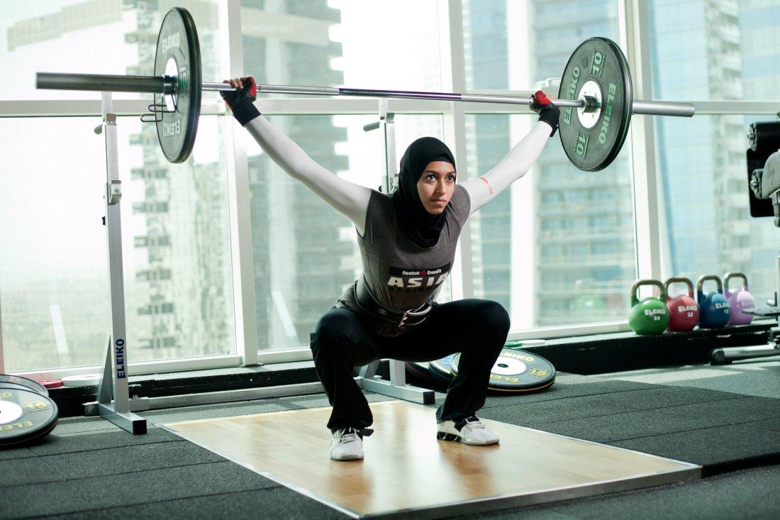 Zahra Lari, Amna Al Haddad, Nike, Hijab, KOLUMN Magazine, KOLUMN