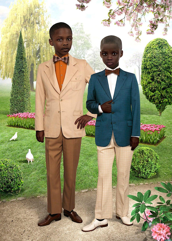 Ruud van Empel, African American Art, KOLUMN Magazine, KOLUMN