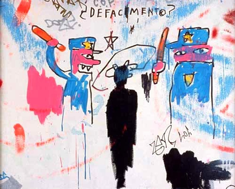 Jean-Michel Basquiat, Michael Stewart, KOLUMN Magazine, KOLUMN