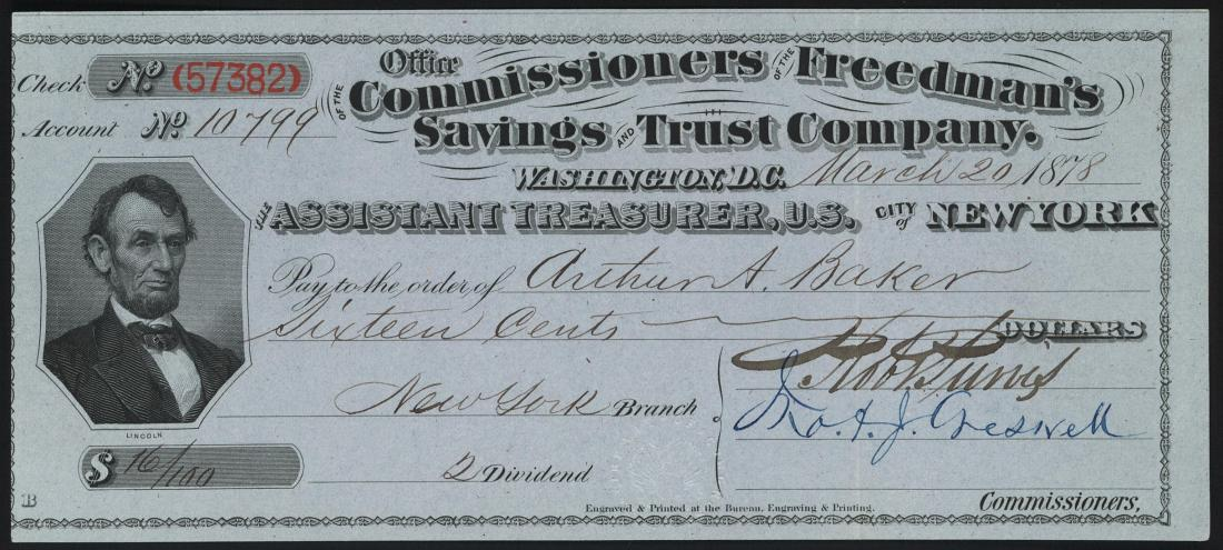 Freedmen's Bureau, Freedmen's Savings and Trust Company, African American News, African American History, Black History, KOLUMN Magazine