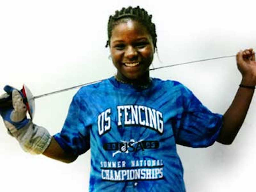 Lena Johnson, USA Fencing, African American Athletes, KOLUMN Magazine, KOLUMN