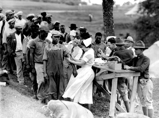 the tuskegee syphilis study On july 25, 1972, the public heard that a government medical experiment had let hundreds of african-american men with syphilis go untreated.