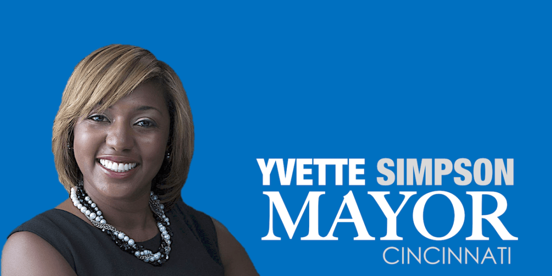 Yvette Simpson, Ohio Politics, Cincinnati Mayor, African American Mayor, Black Mayor, African American News, KOLUMN Magazine, KOLUMN