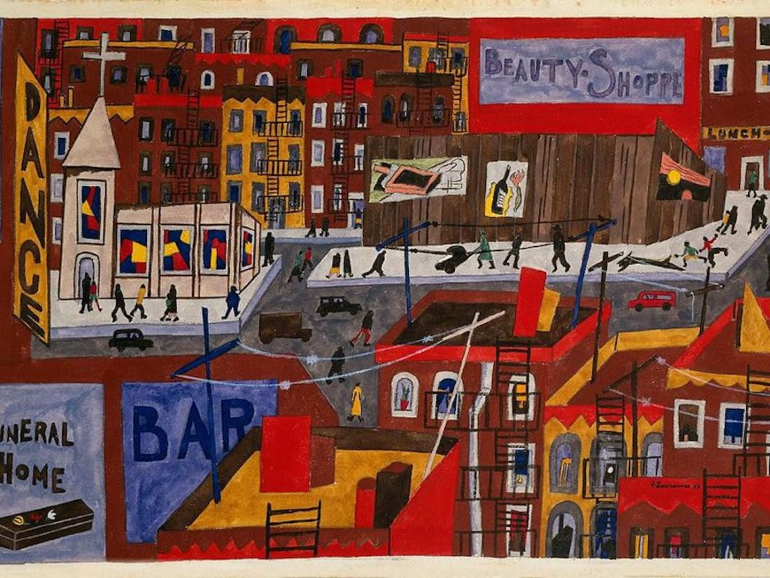 Jacob Lawrence, African American Art, Black Art, African American News, KOLUMN Magazine, KOLUMN