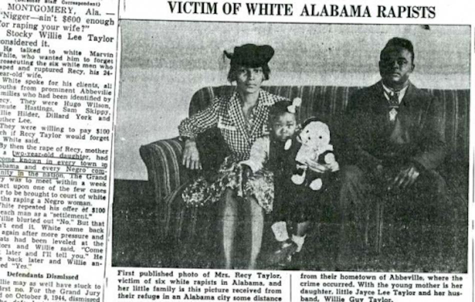 Recy Taylor, African American Lives, African American History, Black History, KOLUMN Magazine, KOLUMN