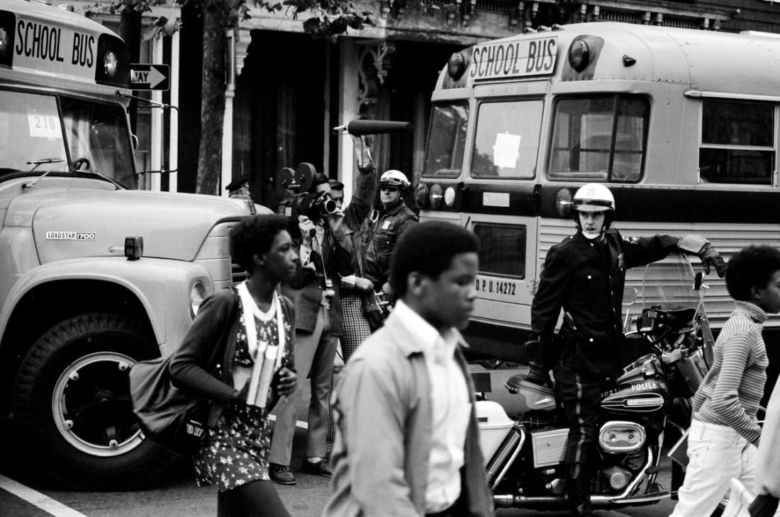 Boston Busing Crisis, Boston Busing Riots, African American History, Black History, Boston Racism, Boston Racist, Civil Rights, Racism, KOLUMN Magazine, KOLUMN