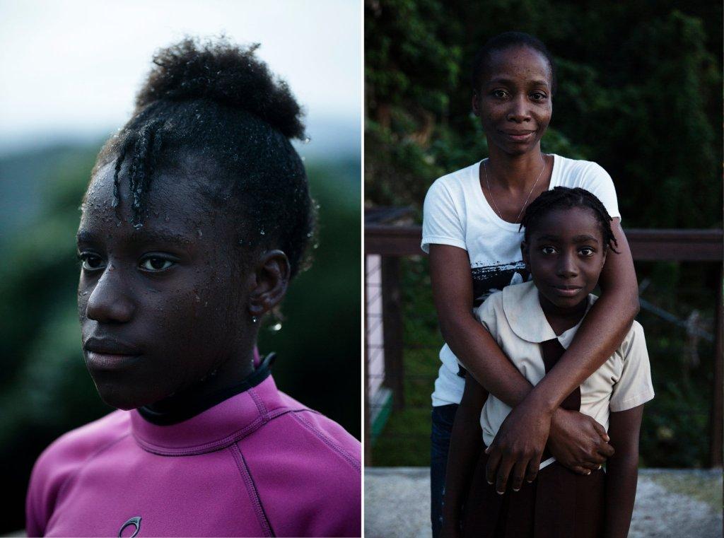 Ajoni, Katana, Joydayne, Laila Bailey, Nyouka, Synchronized Swimmers, Jamaica, Jamaican Athletes, Caribbean, Caribbean History, Black History, KOLUMN Magazine, KOLUMN
