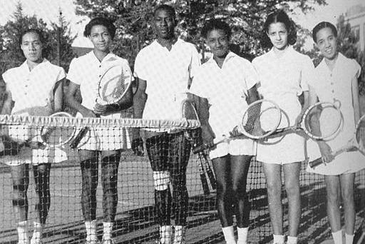 Margaret and Matilda Roumania Peters, African American Athletes, African American Tennis, African American Sports, African American History, Black History, KOLUMN Magazine, KOLUMN