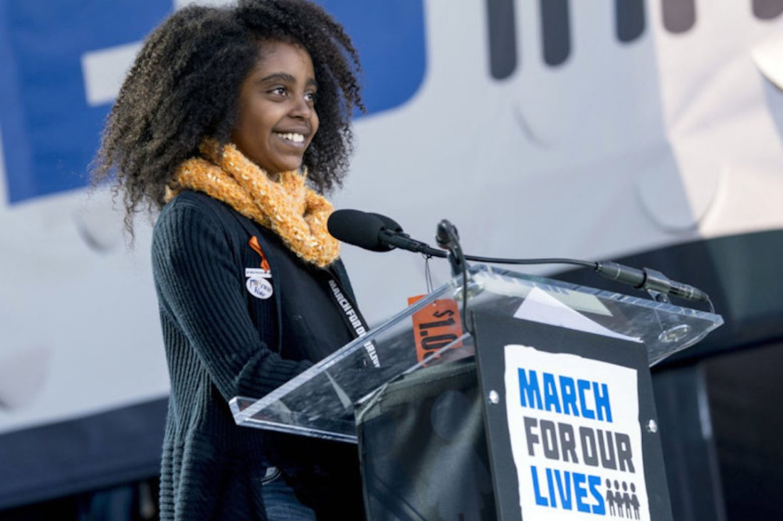 Naomi Wadler, March For Our Lives, Washington March, Gun Violence, Parkland, African American News, KOLUMN Magazine, KOLUMN