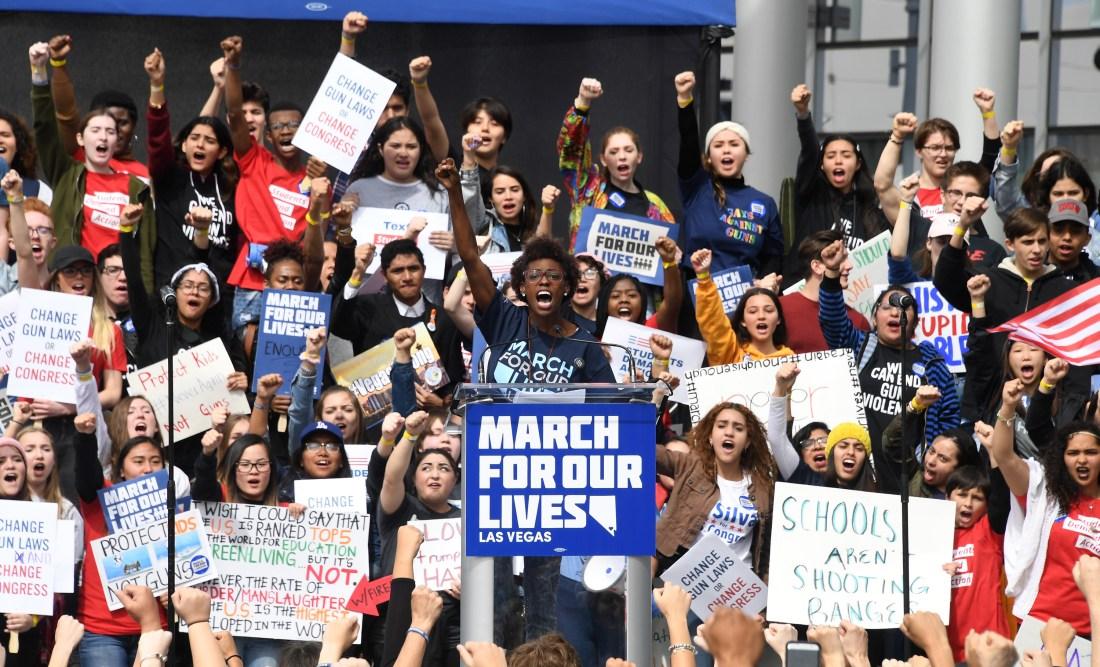 Naomi Wadler, March For Our Lives, Washington March, Gun Violence, Parkland, African American News, KOLUMN Magazine, KOLUMN