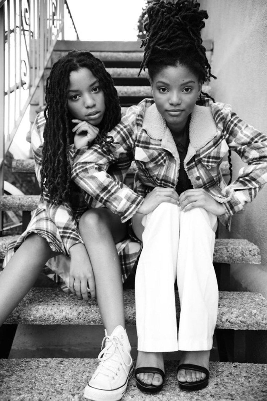 African American Entertainment, Chloe Bailey, Halle Bailey, Chloe And Halle Bailey, Grown'ish, Lemonade, KOLUMN Magazine, KOLUMN, KINDR'D Magazine, KINDR'D
