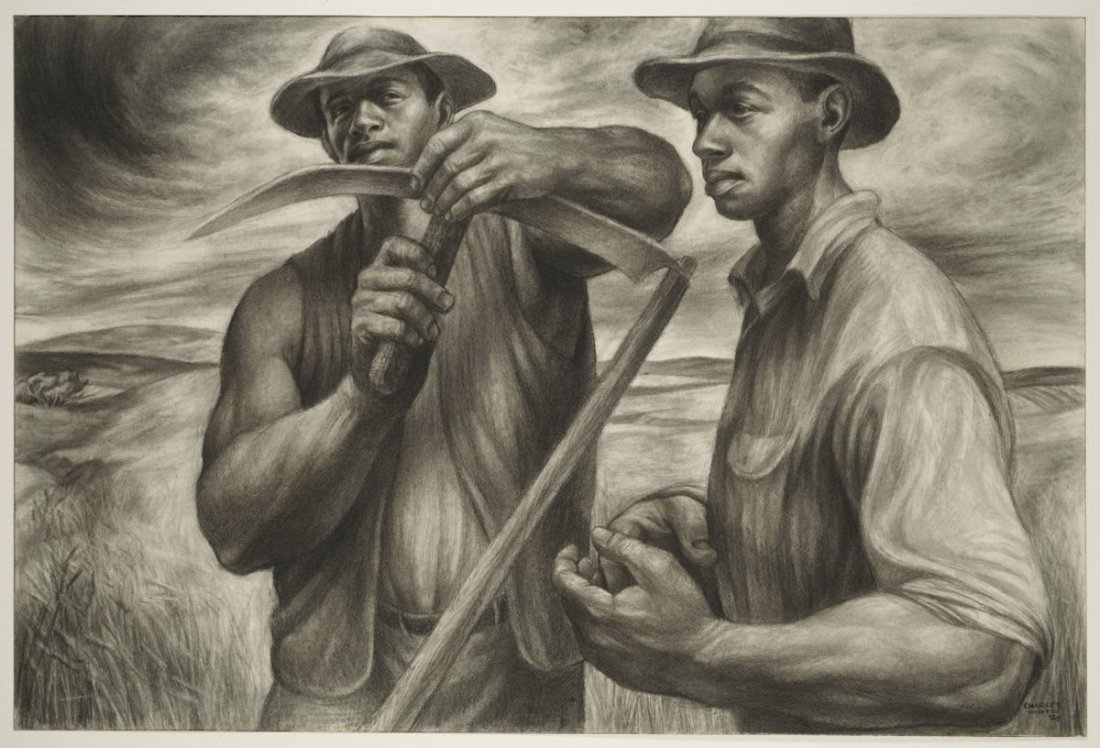 African American Art, Black Art, Charles White, KINDR'D Magazine, KINDR'D, KOLUMN Magazine, KOLUMN, Willoughby Avenue