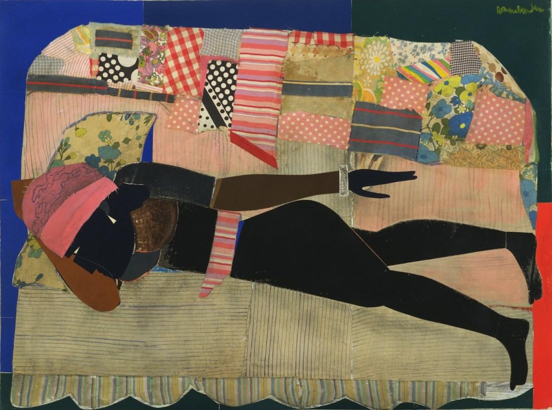 Mickalene Thomas, Romare Bearden, Posing Modernity, The Black Model from Manet and Matisse to Today, Mickalene Thomas, African American Art, Black Art, Racism, KOLUMN Magazine, KOLUMN, Willoughby Avenue