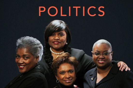 Donna Brazile, Yolanda Caraway, Leah Daughtry, Minyon Moore, African American Vote, Black Vote, African American Politics, Black Politics, The FIVE FIFTHS, TheFIVEFIFTHS, KOLUMN Magazine, KOLUMN, Willoughby Avenue, WRIIT,