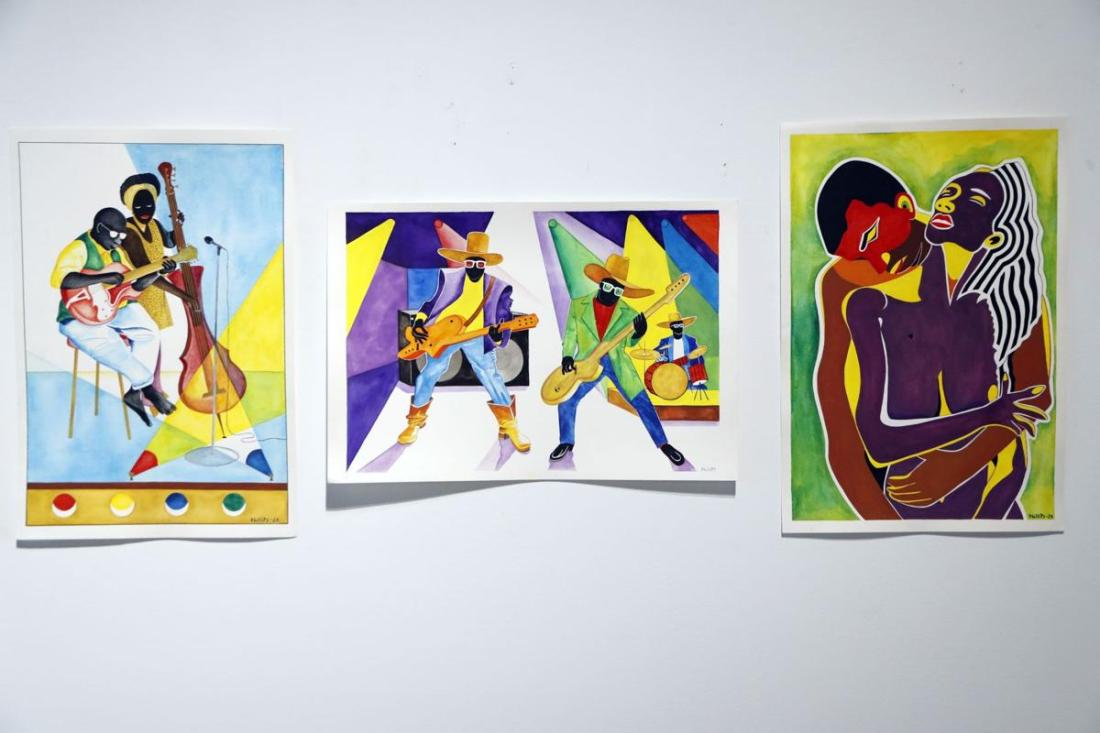 Richard Phillips, Richard Phillips Art, Wrongly Accused, Wrongful Imprisonment, Mass Incarceration, African American Art, Black Art, KOLUMN Magazine, KOLUMN, KINDR'D Magazine, KINDR'D, Willoughby Avenue, WRIIT