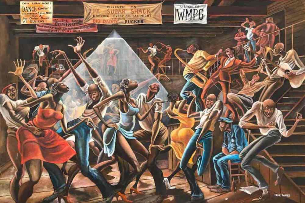 Ernie Barnes, African American Art, African American Artist, Black Art, Black Artist, KOLUMN Magazine, KOLUMN, KINDR'D Magazine, KINDR'D, Willoughby Avenue, WRIIT, Wriit,