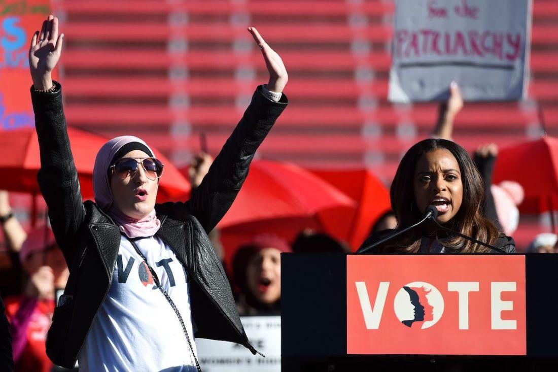 The Women's March, Bob Bland, Tamika Mallory, Linda Sarsour, KOLUMN Magazine, KOLUMN, KINDR'D Magazine, KINDR'D, Willoughby Avenue, WRIIT,