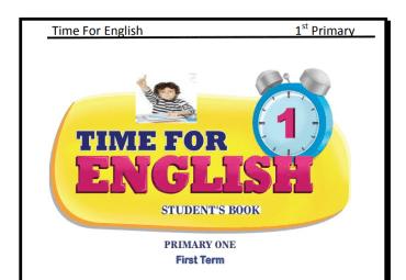 تحميل مذكرة لغة انجليزية اولي ابتدائي الترم الاول 2019