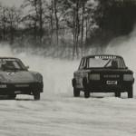 Ved lave vintertemperaturer arrangerede KOM isbaneløb i Stenholt