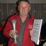 Anders Fisker har modtaget flere ærespokaler for sit flittige virke som rutelægger udi bilorientering