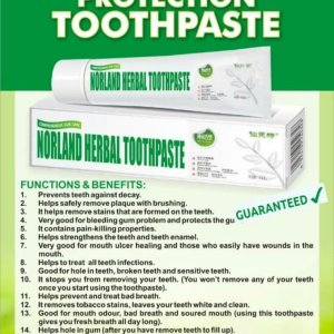 Norland Herbal Toothpaste For Sale In Nigeria
